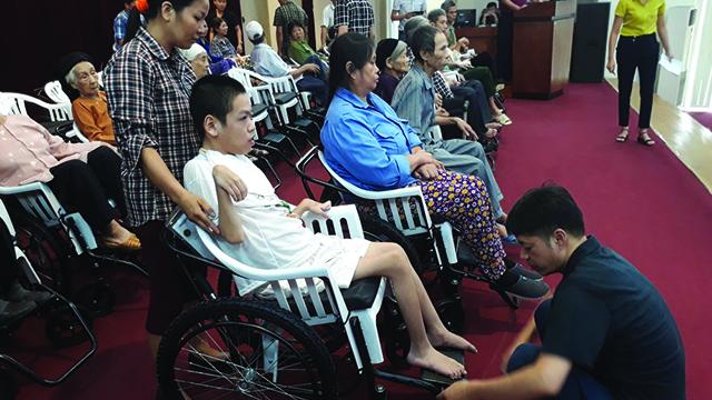 Thiên-Ân-Hỗ trợ người khuyết tật