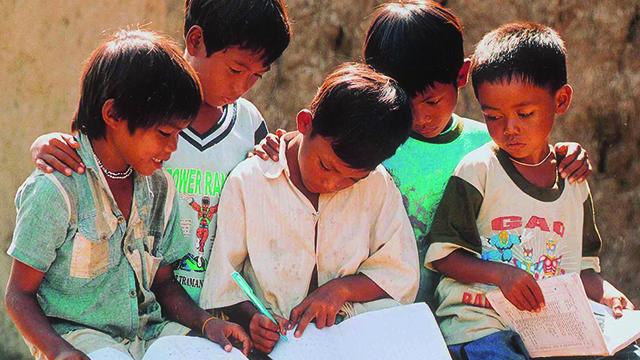 Thiên-Ân-Hỗ trợ trẻ em nghèo